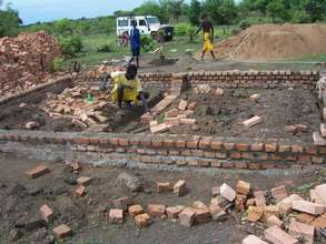 Building new WFS compound in Wau, South Sudan