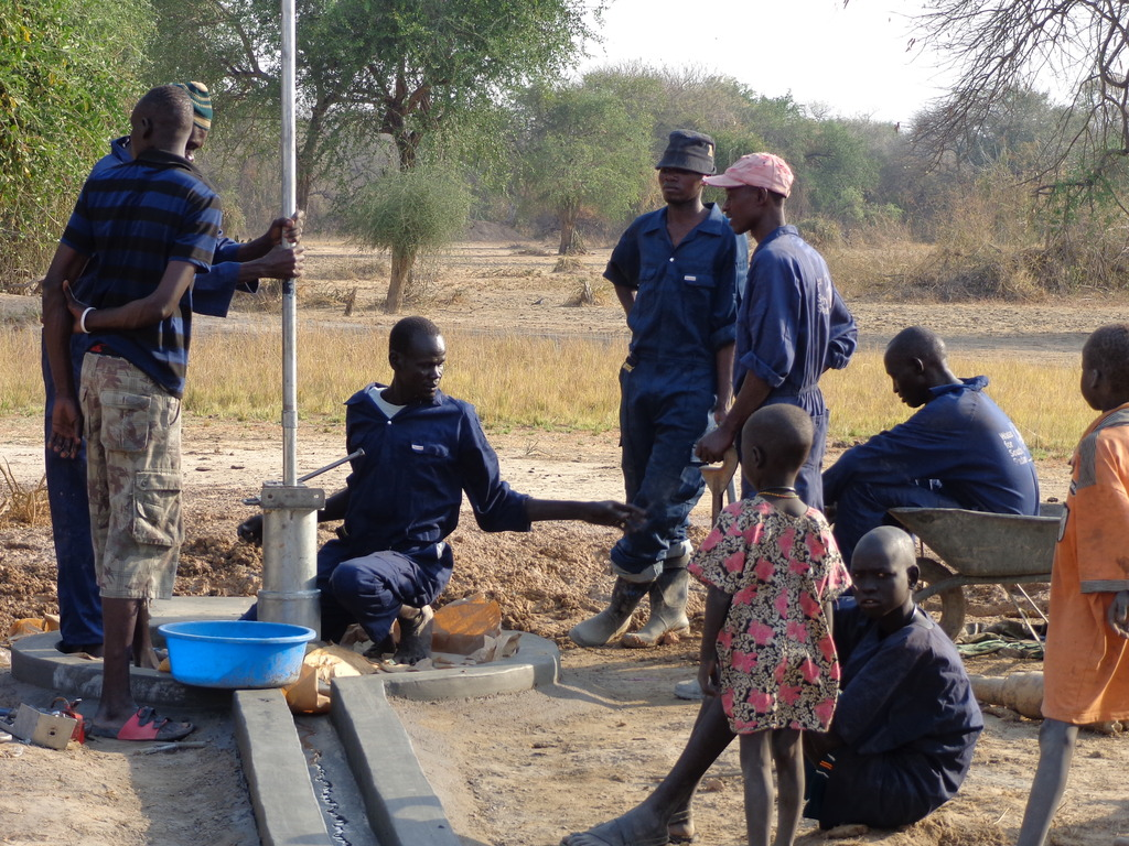 WFSS crew finishes new well