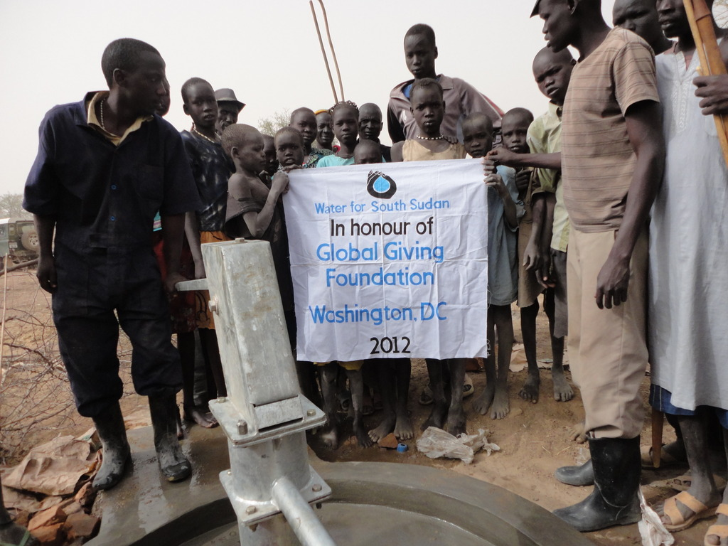 WFSS well in Makuach Rual village