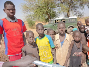 Children now have clean water!