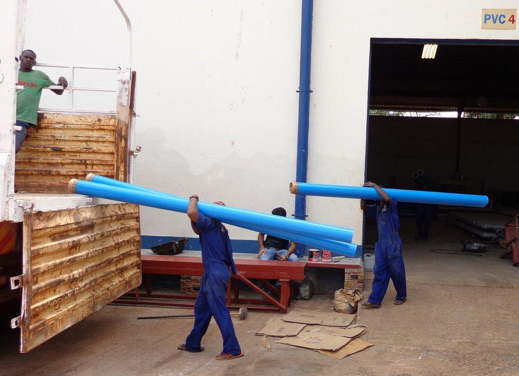 Preparing for drilling