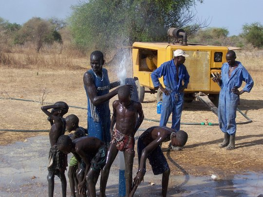 Build a well in South Sudan for 1500 people