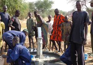 New well in South Sudan