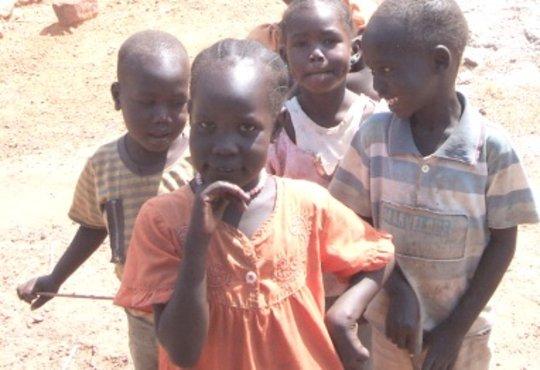 Children in Wau, South Sudan