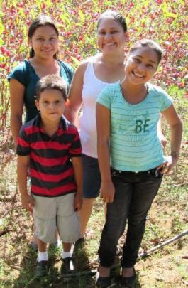Liseth and her three children