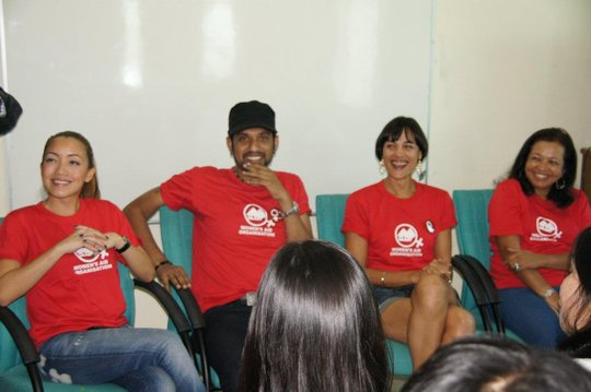 YCMADN campaign spokespersons at the launch