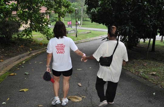 Refuge for abused women in Malaysia