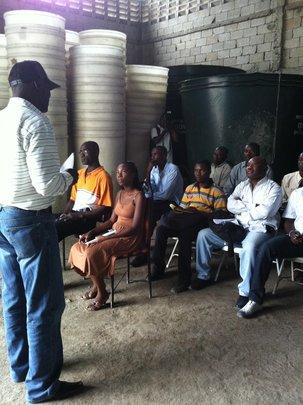 Deworming workshop
