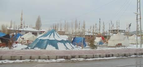 Tents in Van - Turkish Philanthropy Fund