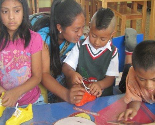 Ingrid Yohana Panjoj, a volunteer
