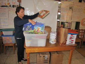 Alba & new supplies purchased with your donations