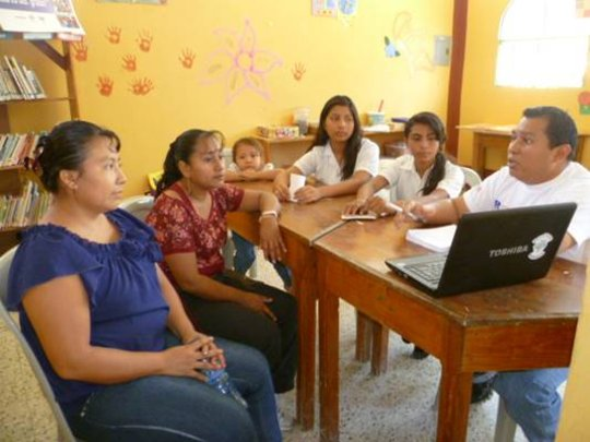 Women participants in a Training