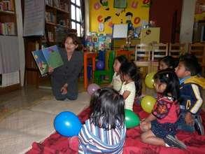 Reading Pleasure with Children