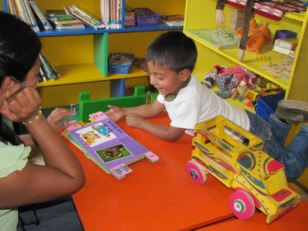 The goal of our project is to get as many families as possible engaged in pre-reading activities with their children so as to enhance the children