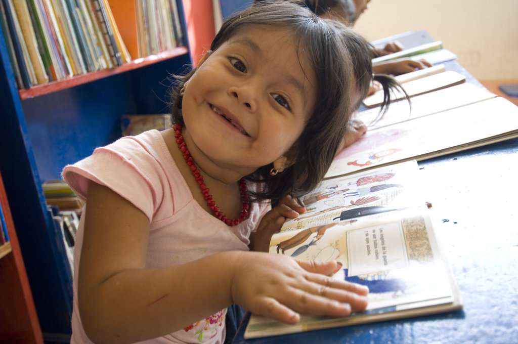 We see lots of young smiling faces in our libraries that currently have funding for early childhood development.  Please help us to expand this program to more libraries in our network of 64 libraries in Central America.
