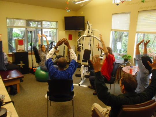Exercise Class for Clients