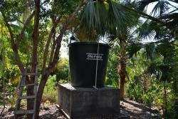 Water Tank at school in Jacmel