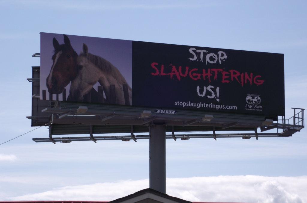 Billboard in The Dalles, Oregon