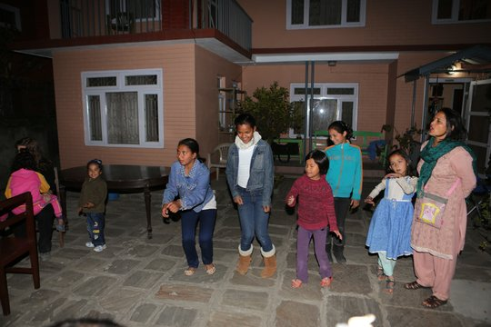Dance Show at The Mountain Fund house