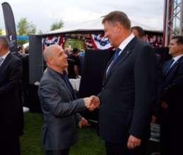 Dr. A meets Romania President