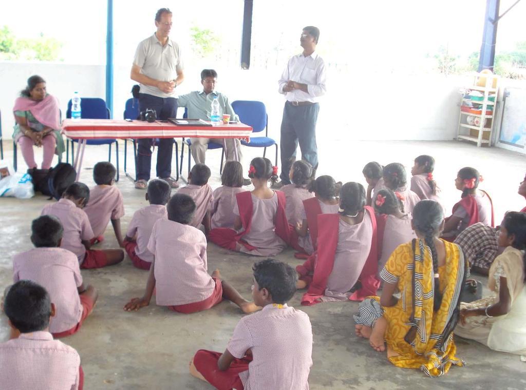 Decathlon foundation chairman with HOMEchildren