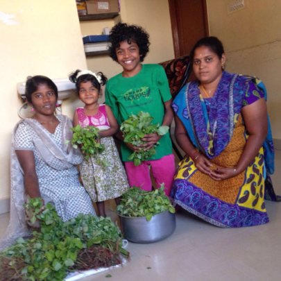 Delivering the Greens to the Children of Home
