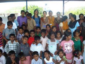 Sankara Nethralaya Hospital staff in HOME