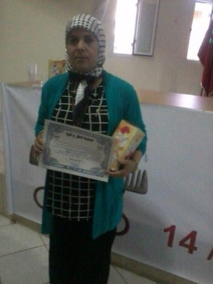 Shy Oum and her hairdressing first prize