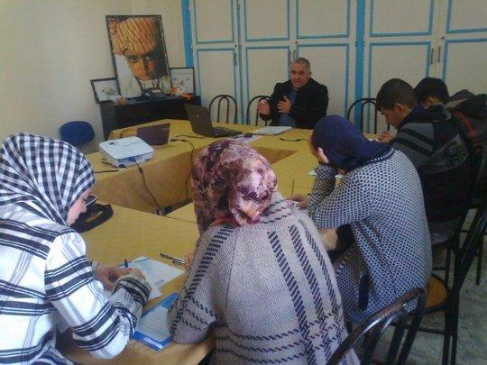 Middle school pupil orientation workshop