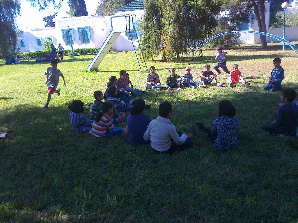 Achoura Day games in SOS children