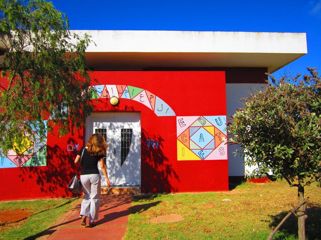 The SOS Village students workshop building.