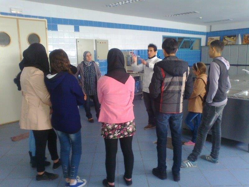 Hospitality and tourism training institute visit