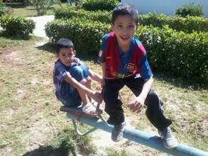 Having fun during Family Day in Imzouren
