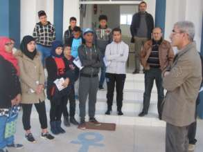Visit of Al Hoceima Marine Institute