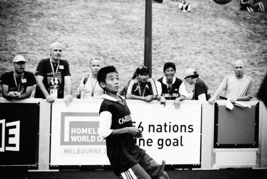 Cambodia Team Paris 2011 Homeless World Cup