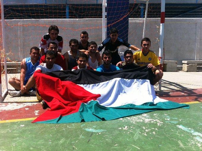 Palestine Team Paris 2011 Homeless World Cup