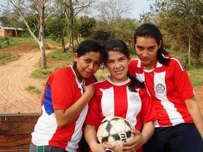 Paraguay Women Team Paris 2011 Homeless World Cup
