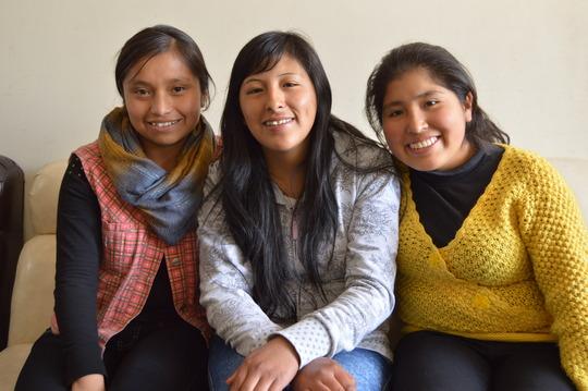 New PP Scholars: Gloria, Jessica, & Miriam