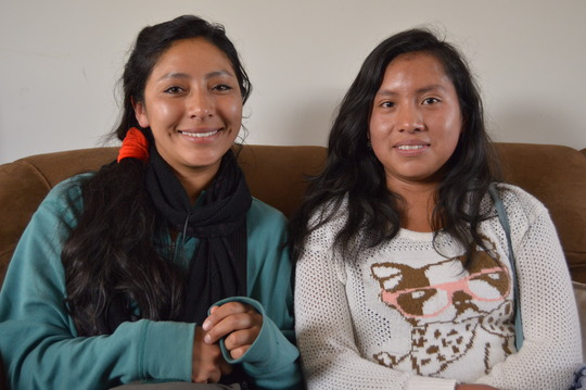 New Peruvian Promise Scholars: Helen and Sharron