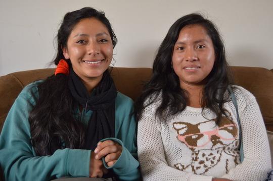 New Peruvian Promise Scholars: Helen and Sharron