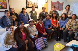 Proud Parents of their Peruvian Promise Scholars