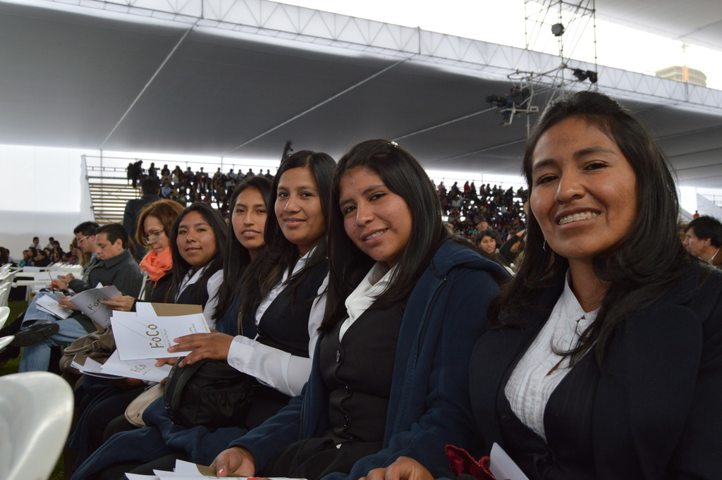 PP Scholars at FoCo Conference in Lima on July 12