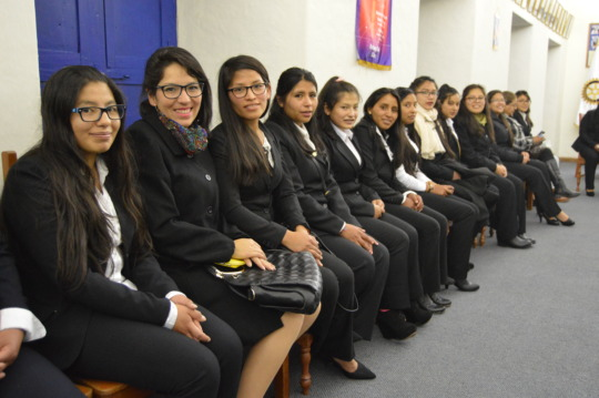 PH Scholars During the Initiation Ceremony