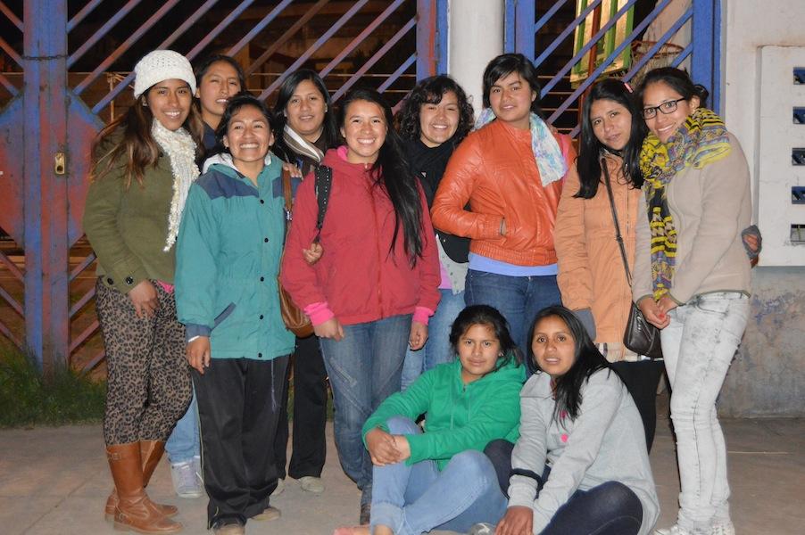 University Scholars from Peruvian Promsie