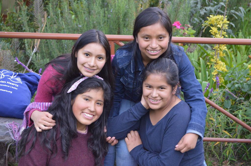 PP Scholars: Thilcia, Miriam, Gloria and Karen