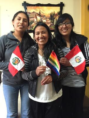 PH Scholars: Maribel, Epifania, and Jessica.