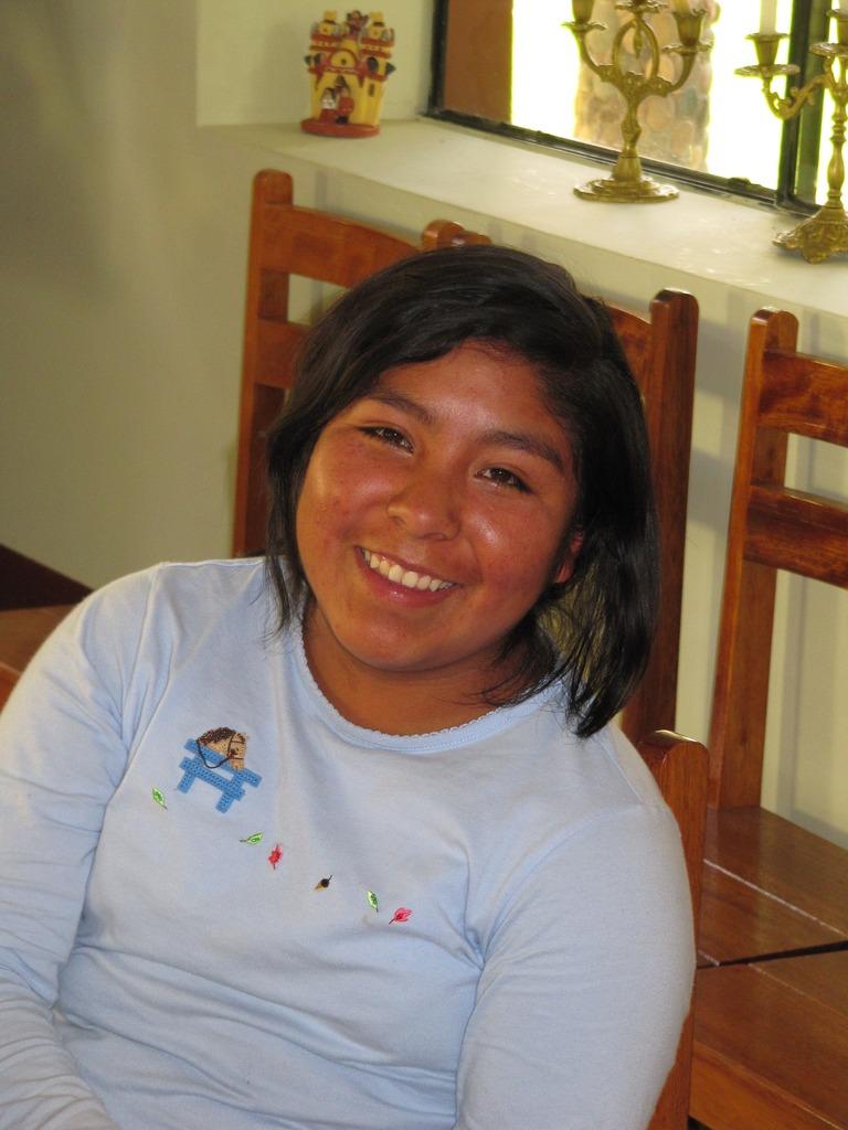 Nelly will attend a culinary institute in Cusco.