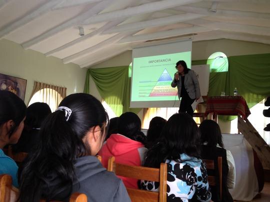 A speaker discusses the importance of self-esteem