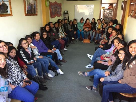 Peruvian Hearts' Scholars Meet Together in Cusco