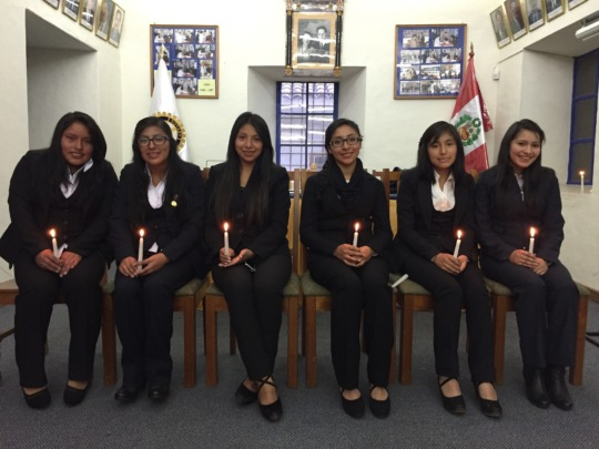 The Six PH Scholars During the Initiation Ceremony